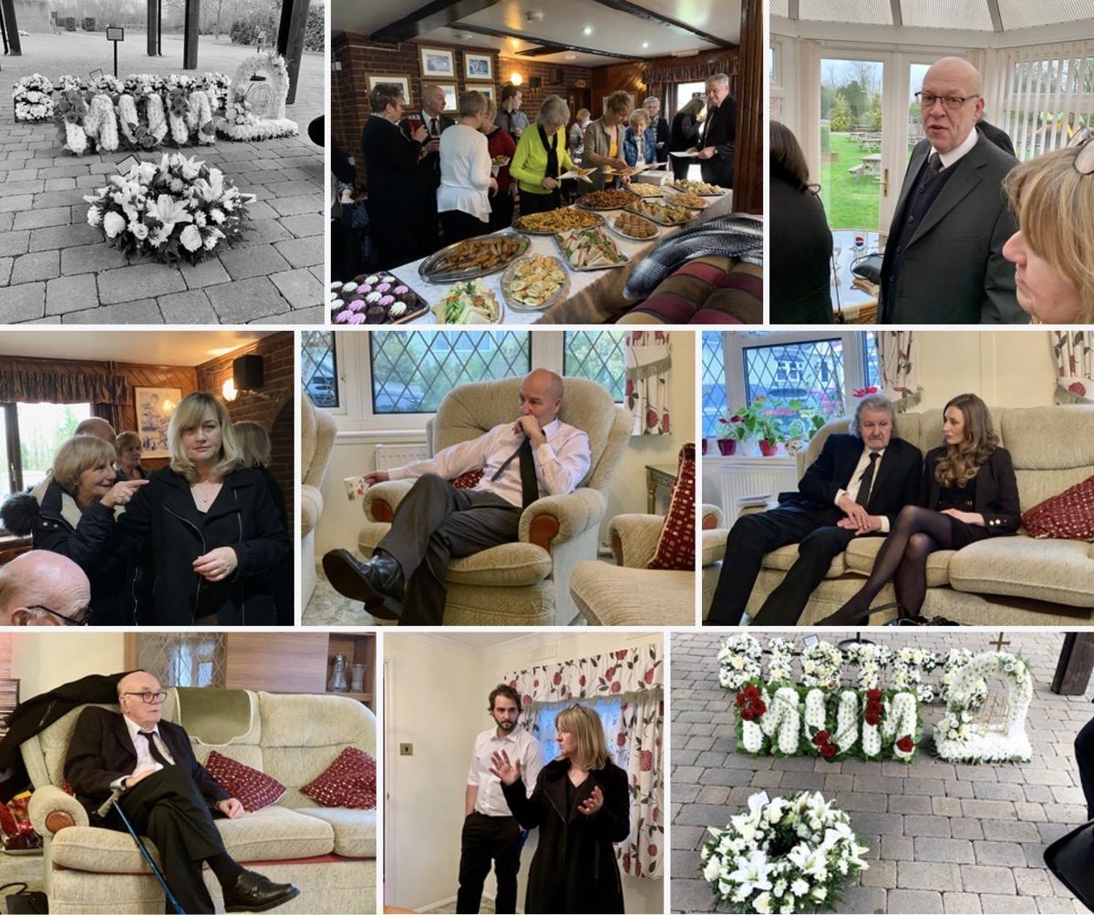 Photos from Jill's funeral